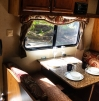 Cultus Lake Trailer Dining Area